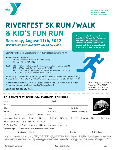 Watertown Area YMCA Riverfest 5k Run/Walk and Fun Run