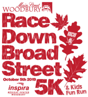 Main Street Woodbury Race Down Broad Street 5K Run/Walk