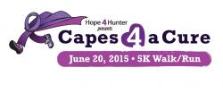"""Hope 4 Hunter Presents """"Capes 4 a Cure"""""""