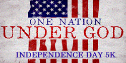 One Nation Under God - Independence Day 5K