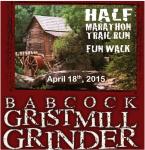 2015 Gristmill Grinder Half Marathon and 5K