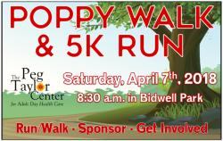 Poppy Walk & 5K Run