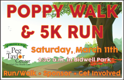 Poppy Walk & 5K Run