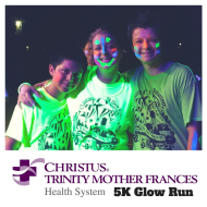 CHRISTUS Trinity Mother Frances: 5k Glow Run