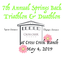 7th Annual Springs Back Triathlon and Duathlon
