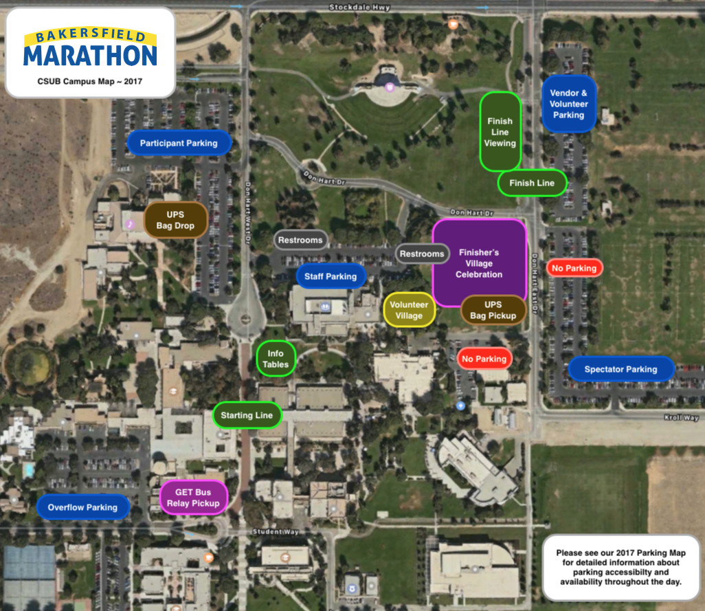 Csu Bakersfield Campus Map.Csub Map Map Of Southeast Usa