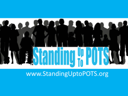 Standing Up To POTS 5k/2K