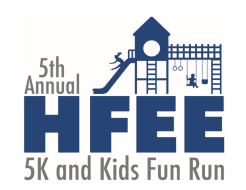 5th Annual HFEE 5K + Kids Fun Run (1mi) - 2019