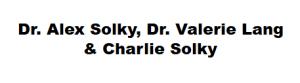 Dr. Alex Solky, Dr. Valerie Lang  & Charlie Solky
