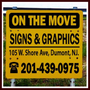 On The Move Sign & Graphics