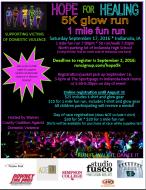 Hope For Healing 5K Glow Run