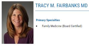 Dr. Tracy Fairbanks