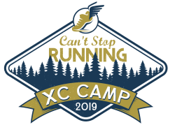 Can't Stop Running Co XC Camp 2019