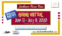 50th Annual Jackson ORS Rose Run - Going Virtual