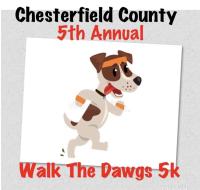 "Chesterfield County Animal Services ""Walk The Dawg"" 5k Run/Walk"