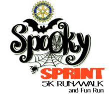 11th Annual Rowan Rotary Spooky Sprint 5K Run/Walk