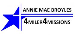 Annie Mae Broyles 4Miler4Missions