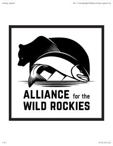 Alliance for the Wild Rockies