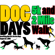 Dog Days 5K and 2 Mile Walk
