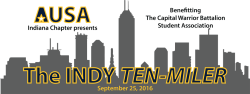 The AUSA Indy Ten-Miler