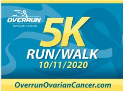 The OVERRUN Ovarian Cancer 5K Run/Walk and 1 Mile Teal Trail Walk