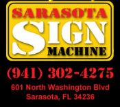 Sarasota Sign Machine