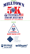 Milltown Firecracker *Virtual* 5K