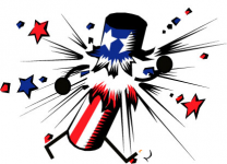 Ralston Independence Day Fun Run/Walk  3 Mile 2019