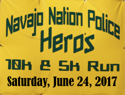 Navajo Nation Police Hero Run