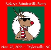 Rotary's Reindeer 8K Romp
