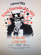Lakewood Y Firecracker Virtual 10K & 2 Mile Run/Walk