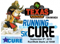 Texas Roadhouse Running for the Cure 5K