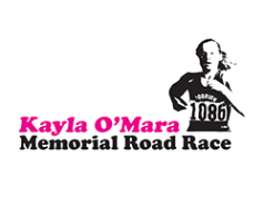 15th Annual Kayla O'Mara Memorial Road Race Logo