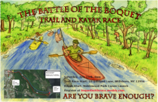 Battle of the Boquet Trail and Kayak Race