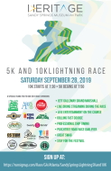 Sandy Springs Lightning 5K  and 10K