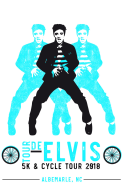 Tour de Elvis V 5K & 25-45-65 Mile Cycle Tour
