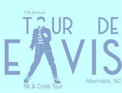 12th Annual Tour de Elvis 5K & 25-45-62 Mile Cycle Tour