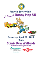 4th Antioch Rotary Club Bunny Hop 5K