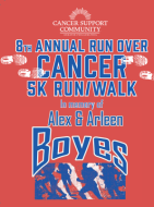 8th Annual Run Over Cancer 5K Run/Walk (In Memory of Alex and Arleen Boyes)