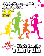 St. John Evangelist Parish 5K and Family Fun Run