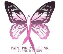 2019 Paint Pikeville Pink 5K/10K/1 mile fun walk
