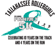 Tallahassee Rollergirls 4th Annual Fishnet 5k