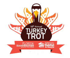 "Florida SouthWestern State College presents Charlotte County Habitat's 19th Annual ""Turkey Trot"""