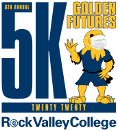 Rock Valley College Golden Futures Virtual 5K Run/Walk