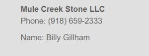 Mule Creek Stone