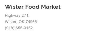 Wister Food Market