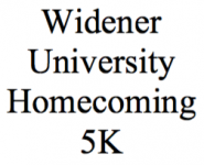 4th Annual Widener University Homecoming 5K