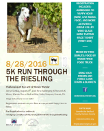 Challenging 5K and 2K Run/Walk Through the Riesling