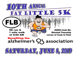 Fat Little 5K & 1 Mile Walk - Event Postponed - New Fall Date TBD