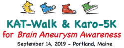 KAT-Walk & Karo-5K for Brain Aneurysm Awareness